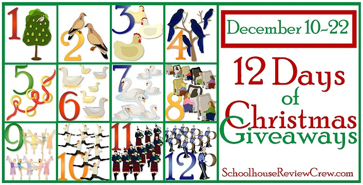 Coming Soon -- 12 Days of Christmas Giveaways! | Homeschool Review ...