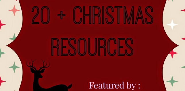 20+ Christmas Resources