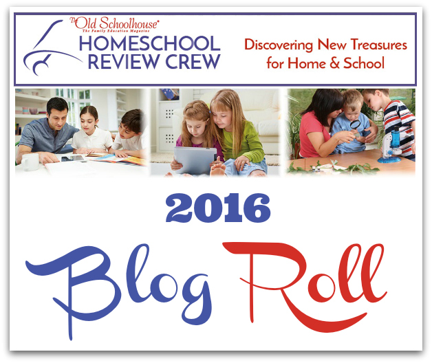 2016 Homeschool Review Crew Blog Roll