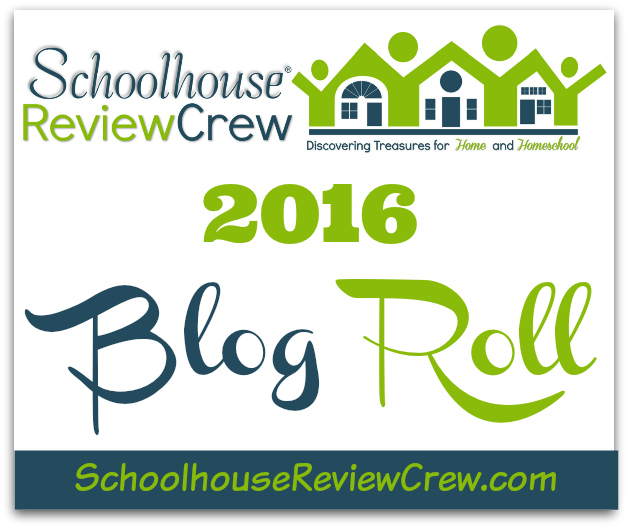 2016 Schoolhouse Review Crew Blog Roll