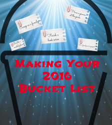Making Your 2016 Bucket List
