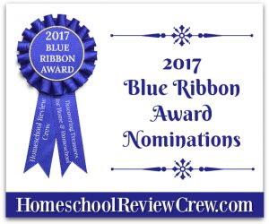 2017 Homeschool Review Crew Blue Ribbon Awards