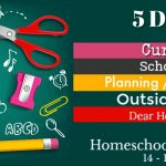 Annual Back to Homeschool Blog Hop {14 – 18 August 2017}