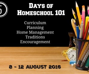 Coming Soon …  5 Days of Homeschool 101