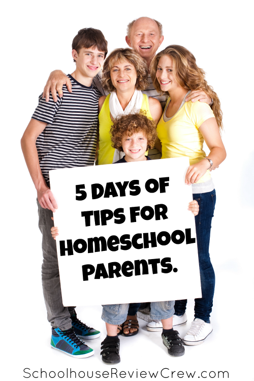5 Days of Tips for Homeschool Parents