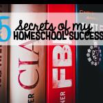 5 Secrets of my Homeschool Success