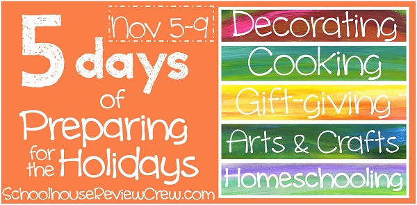 Save the Date! 5 Days of Preparing for the Holidays Blog Hop!