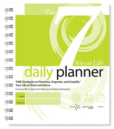 7-Minute Life Daily Planner