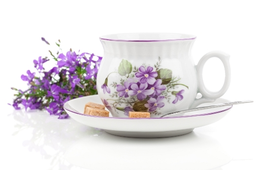 http://www.dreamstime.com/stock-photo-vintage-coffee-tea-cups-blue-flowers-over-white-background-image44670110