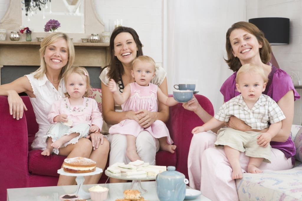 http://www.dreamstime.com/stock-photo-three-mothers-room-babies-coffee-image5939710