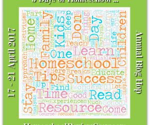 Annual Blog Hop 5 Days of Homeschool … 2017
