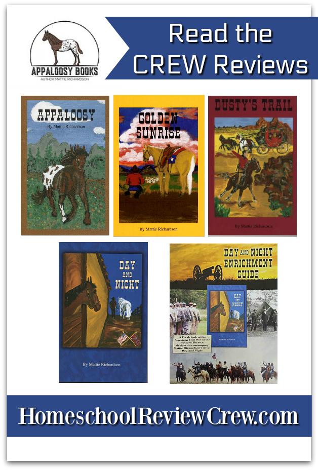 Book Set: Appaloosy, Dusty's Trail, Golden Sunrise & Day and Night {Mattie Richardson/Appaloosy Books Reviews}