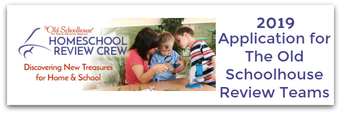 2019 Homeschool Review Crew Application