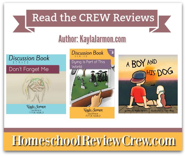 Discussion Book Series and A Boy and His Dog {Kayla Jarmon Reviews}