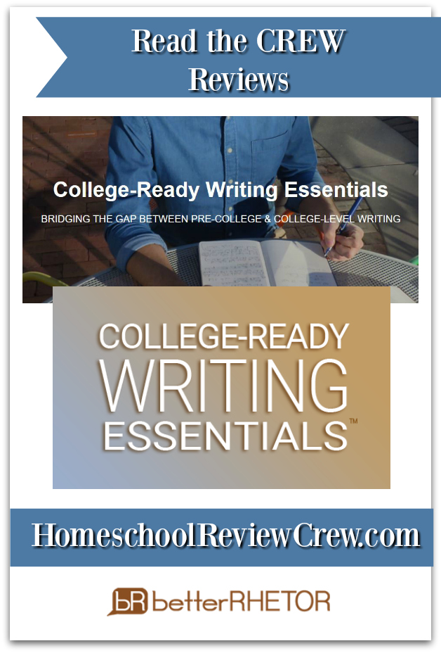 College-Ready Writing Essentials™ {BetterRhetor Reviews}