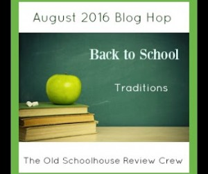 Traditions {5 Days of Homeschool 101}