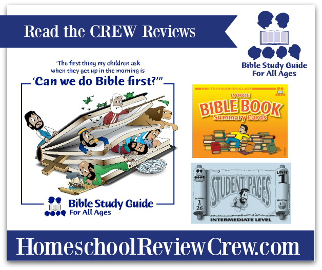 Bible Study Guide For All Ages {Reviews}