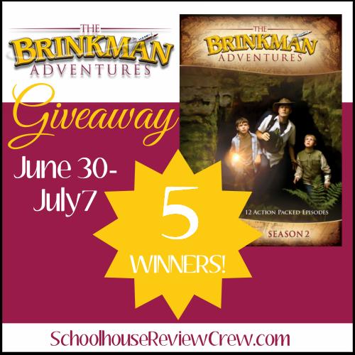Brinkman Adventures Giveaway