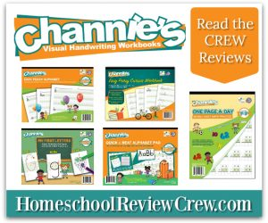 Channie's Visual Handwriting & Math Workbooks {Reviews}