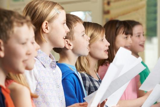 Children Singing Together