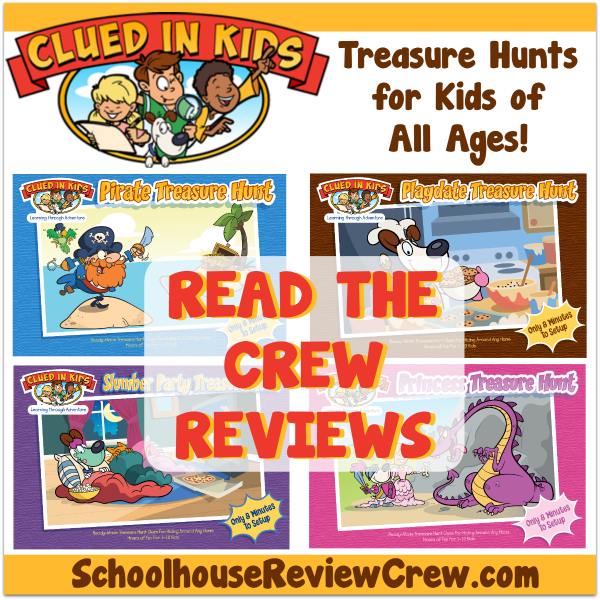 Clued In Kids Reviews