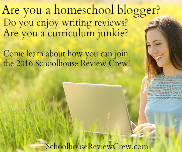 join the Schoolhouse Review Crew - SchoolhouseReviewCrew.com