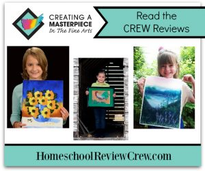 Creating Beautiful Art at Home {Creating A Masterpiece Reviews}