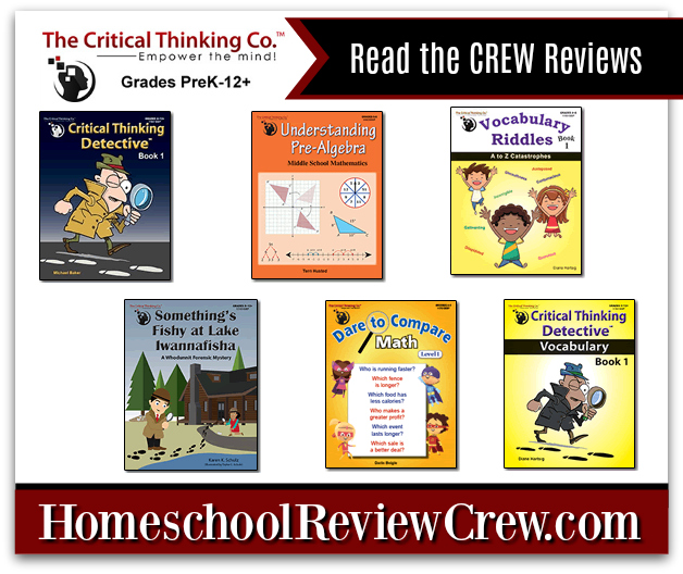 Critical Thinking, Understanding Math & Vocabulary {The Critical Thinking Co.™ Reviews}