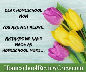 Dear Homeschool Mom  You are not alone.   {Homeschool Link UP}