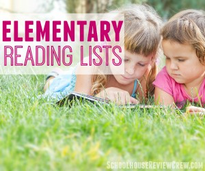 Elementary Reading Lists