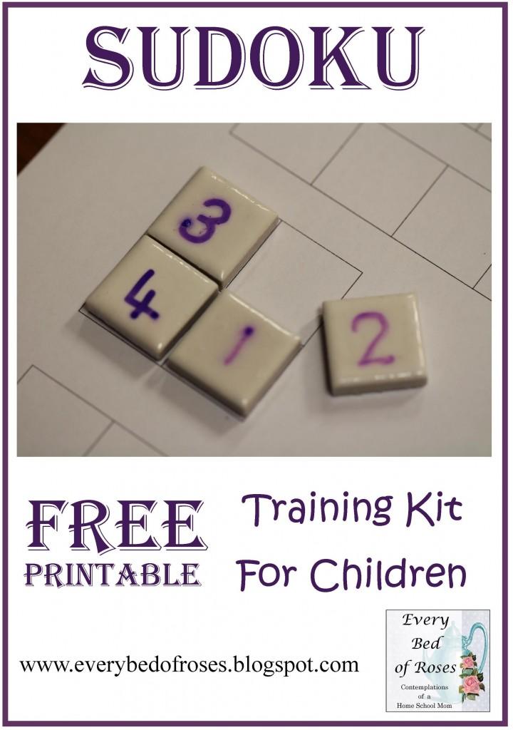 FREE Sudoku Training Kit for Children