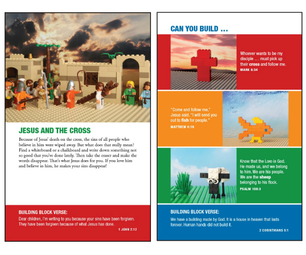Faith builders Bible Sample Pages
