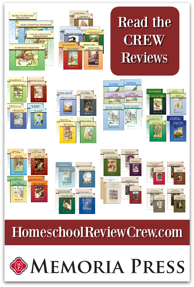 First to Tenth Grade Literature Guides {Memoria Press Reviews}