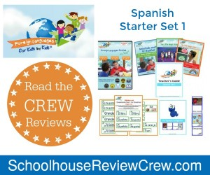 Beginner Spanish {Foreign Languages for Kids by Kids Review}