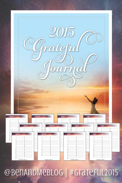 FREE Printable 2015 Grateful Journal — BEAUTIFUL!