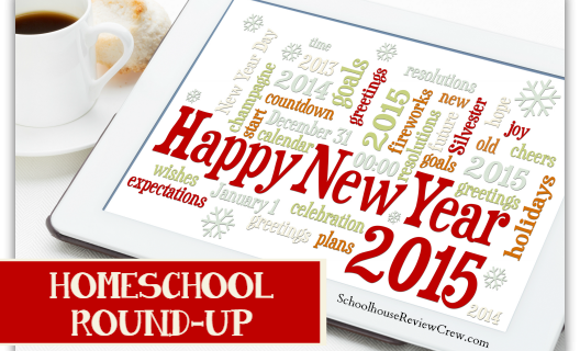 Happy New Year 2015 Homeschool Round-Up
