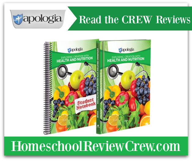 Health and Nutrition Basic Set {Apologia Educational Ministries Reviews}