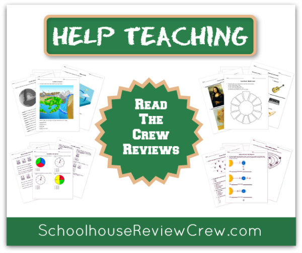 Help Teaching Schoolhouse Review Crew Reviews
