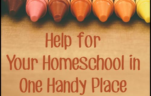 Help for Your Homeschool - SchoolhouseTeachers.com