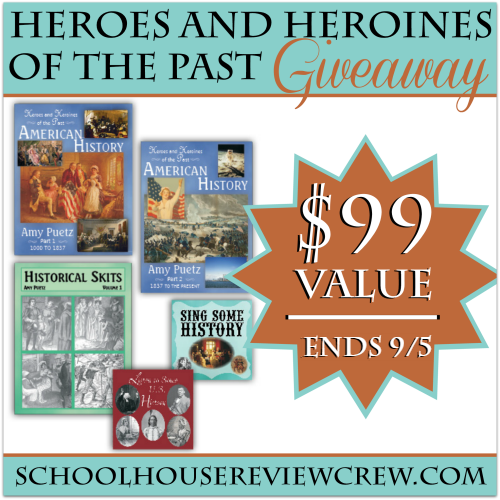 Heroes and Heroines of the Past Giveaway