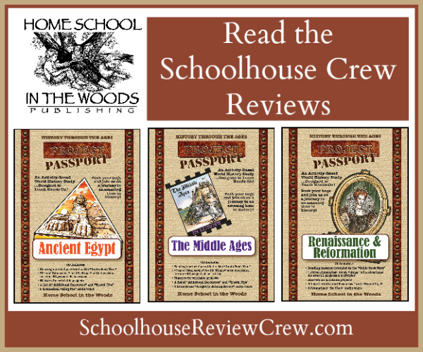 Home School in the Woods Project Passport Review