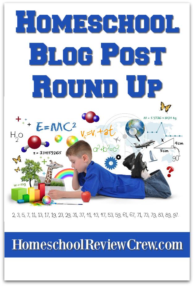 Homeschool Review Crew Homeschool Blog Post Round Up