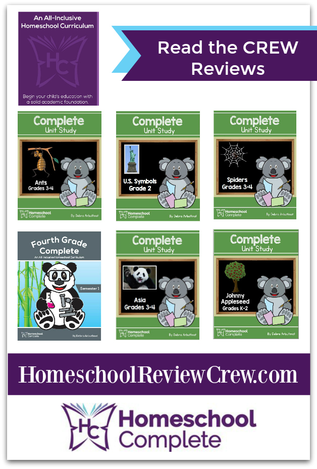 Homeschool Complete K - 4th Grade & Unit Studies {Homeschool Complete Reviews}