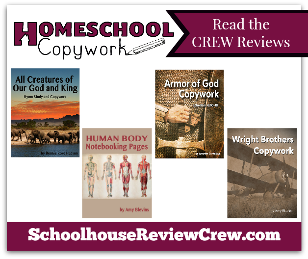 Homeschool Copywork Reviews