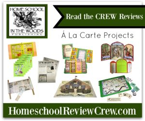 À La Carte Projects – Individual projects designed to enhance your studies! {Home School in the Woods Reviews}