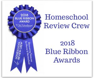 Homeschool Review Crew 2018 Blue Ribbon Awards