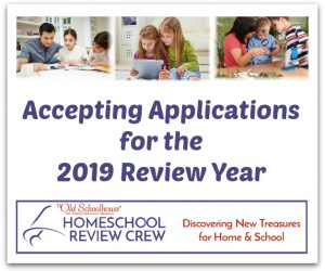 2019 Homeschool Review Crew Applications Now Open
