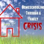 Homeschool Through a Family Crisis