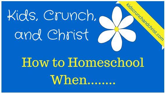 How to Homeschool when