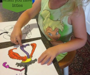 How to homeschool bigs when you have littles